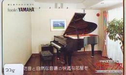 Télécarte Japon * Musique * PIANO * (228) Japan Music Phonecard * KLAVIER Musik Telefonkarte * YAHAMA - Music