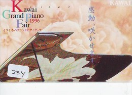 Télécarte Japon * Musique * PIANO * (234) Japan Music Phonecard * KLAVIER Musik Telefonkarte * - Música