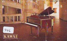 Télécarte Japon * Musique * PIANO * (246) Japan Music Phonecard * KLAVIER Musik Telefonkarte * YAMAHA - Musik