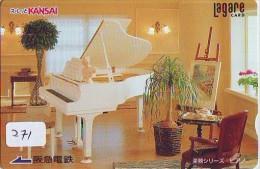 Télécarte Japon * Musique * PIANO * (271) Japan Music Phonecard * KLAVIER Musik Telefonkarte * - Musik