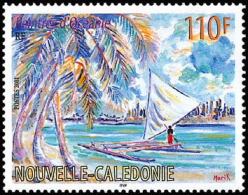 New Caledonia - Nouvelle Caledonie - 2001 - ( The Lonely Boatman, By Marik ) - MNH (**) - Nueva Caledonia