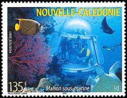 New Caledonia - Nouvelle Caledonie - 2001 - ( Underwater Observatory ) - MNH (**) - Nueva Caledonia