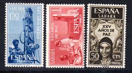 IFNI 1965. XXV AÑOS DE PAZ     EDIFIL Nº 239/241    NUEVO  SIN   CHARNELA  SES063 - Sahara Español