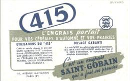 Buvard 415 L'engrais Parfait Pour Vos Céréales D'automne Et Vos Prairies Un Produit Saint Gobain - Agriculture