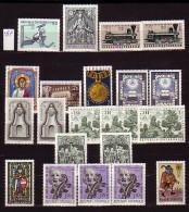 AUTRICHE - OSTERREICH - 1967 - Collectione - Briefmarken