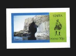 STAFFA  ** -  Bloc, Grotte - Fingals Cave.  MNH - Cinderella