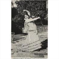 COSTP0604CPA-LFTM1242TN.Tarjeta Postal De España,BAILE TIPICO ANDALUZ,Carmen Barbas.Une Danseuse. - Nombres
