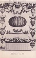 CPA - Histoire De L´Aérostation - Calendrier Pour 1785 - Dirigeables