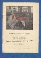 Livret Ancien De 1929 - PARIS - Exposition José Antonio TERRY - Peintré Né à Buenos Aires  Peinture Galerie George Petit - Kunst