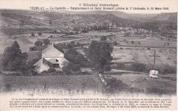 CPA Vézelay - La Cordelle - Emplacement Où Saint Bernard Prècha La 2e Croisade (12899) - Vezelay