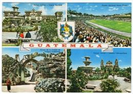 GUATEMALA-VIEWS - ESTADIO NACIONAL MATEO FLORES/ STADIUM / STADIO / STADE / STADION / FOOTBALL / THEMATIC STAMP-ITU - Guatemala