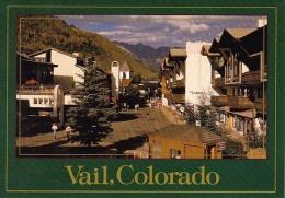 Pedestrian Vail Village 8250 Feet High In the Colorado Rocky Mountains Vail Colorado
