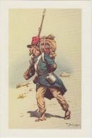 Reproduction Aquarelle : Légionnaire (1832-1835) - Uniforms