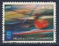 Greece, Scott # 2106 Used Olympic Sports, Kayak, 2004 - Greece