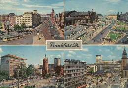 -FRANKFURT/M--MULTIVUES UND PUBSTAMPELPOST FRANKFURTER-MESSE 3-7 SEPT 1961-- - Frankfurt A. Main