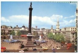 (548) UK 0 London Traflagar Square And Nelson Column - Monuments