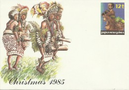 Papua New Guinea  1985 Christmas Prepaid Envelope Mint - Papua New Guinea