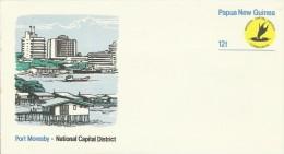 Papua New Guinea  1985 National Capital District Prepaid Envelope Mint - Papua New Guinea