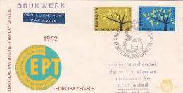 Netherlands 1962 Europa FDC - FDC