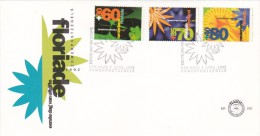 Netherlands 1992 Flowers FDC - FDC