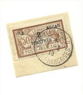 14  Timbre Surchargé     Sur Fragment  Magnifique Obliutération    (pag13) - Rouad (1915-1921)