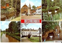 Hulshout Westmeerbeek (2235) : Groeten Uit WESTMEERBEEK. CPSM Multivues Couleur. - Hulshout