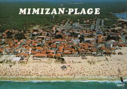 40 - MIMIZAN-PLAGE - Vue Aérienne - Plage Nord - Mimizan