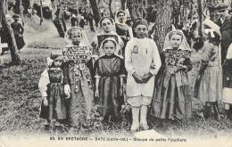 Paludiers - En Bretagne - Batz (Loire-Inférieure) - Groupe De Petits Paludiers - Edition F. Chapeau - Other