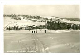 Jöhstadt. Wintersportplatz Jöstadt I Erzgebirge. - Jöhstadt