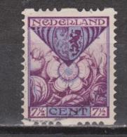 NVPH Nederland Netherlands Pays Bas Niederlande Holanda 72 Used ; Roltanding, Syncopated, Syncope, Sincopado 1925 - Postzegelboekjes En Roltandingzegels
