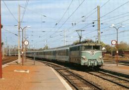 RU CA 17 - Train - Loco BB 16014 Entrant En Gare - TERGNIER - Aisne 02 - SNCF - Autres Communes