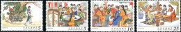 2015 Red Chamber Dream Stamps Book Garden Novel Flower Tea Bamboo Fairy Tale - Other