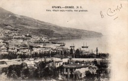 CRIMEE - JALTA - Vue Générale - Ukraine