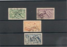 FRANCE  1949 N° Y&T : 859/862 Oblitérés - Gebraucht