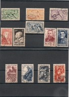 FRANCE  1949 N° Y&T : 823/826- 844/847- 859/862 Oblitérés Côte : 27,00 € - Gebraucht