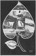 AMBERIEU ..-- 01 . AIN ..-- 1916 Vers SAINT - AMOUR . Voir Verso . Très Beaux Cachets Militaires . - France