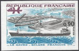 FRANCE 1973 NON DENTELE Nº 1772a IMPERF - France