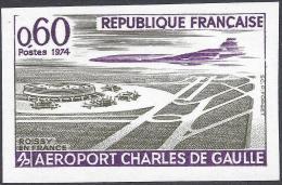 FRANCE 1974 NON DENTELE Nº 1787a IMPERF - France