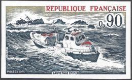 FRANCE 1974 NON DENTELE Nº 1791a IMPERF - France