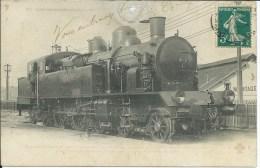 CPA - LOCOMOTIVE  N° 5501 - Année 1908 - A Voyagé - Réparée. - Other