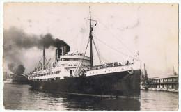 Gouverneur  Général  CHANZY      Photo Véritable - Steamers