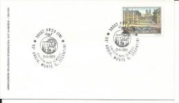 MF036 -MARCOFILIA - ANNULLO SU BUSTA 15.6.1989 - 90° ANN. MORTE G. SEGANTINI - ARCO - TRENTO - 1981-90: Marcophilia