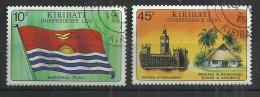 KIRIBATI 1979 - INDEPENDENCE - CPL. SET - USED OBLITERE GESTEMPELT USADO - Kiribati (1979-...)