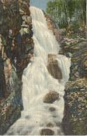 B20 / ETATS UNIS CPA CASCADE AT THE PLUME , FRANCINIA NOTCH, WHITE MOUNTAINS , NH /  NEUVE VOIR DOS - White Mountains