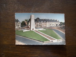 Carte Postale Ancienne D'Avranches- Le Monument Patton - Avranches