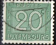 PIA - LUX - 1946 - Segbatasse - (Yv 25) - Taxes