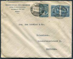 1928 Colombia Bogota SCADTA Editorial De Cromos Airmail Cover - Colombia