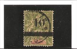 TIMBRES DE 1892  -  93  Surchargés  N° 29  Oblitéré - Used Stamps