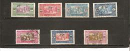 TIMBRES DE 1924  -  27 Avec Nouvelle Valeur Et Traits En Surcharge  N° 95   à   101  Oblitérés - Used Stamps