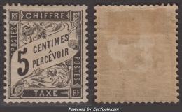 *PROMO* 5c Duval Neuf  * TB (Y&T N° 14 , Cote: 200€) - Postage Due